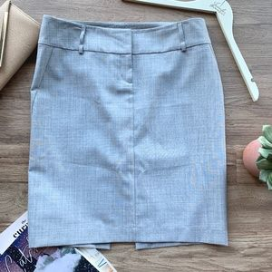 Express Design Studio Gray Skirt